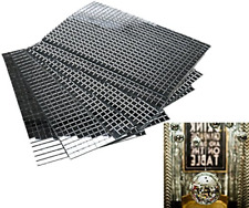 Craft Mini Square & Round Mirrors Mosaic Tiles 5 x 5mm Self-Adhesive Real Glass