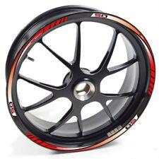 FRFR Liseret jantes Derbi Senda DRD Pro 50 Rouge autocollant jante roue vinyle b