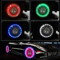 15 Mode Solar Energy Auto Flash LED Car Wheel Hub Tire Tyre Valve Cap Light Lamp