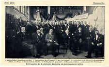 Cérémonie d'ouverture des x. Alsace-Lothr. exposition de travaux apprenti Metz 1907