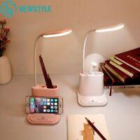 Led Lampe De Table Lampes De Bureau Usb Lecture Flexible Les Enfants Téléphone H
