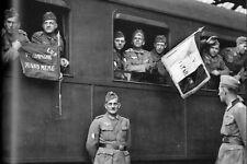 WW2 - LVF - Départ d'un contingent pour le front  de l'Est