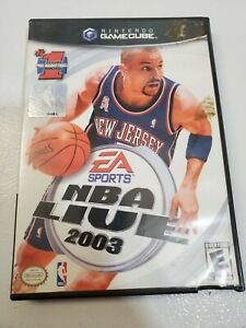 Nintendo Game Cube NBA Live 2003 EA SPorts Game Disc Case Booklet Pre-Owned