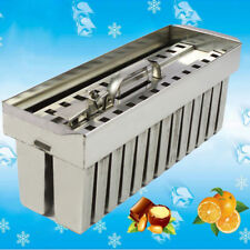 Top Quality Stainless Steel Ice Lolly Mold 71ml 2x13pcs Brazilian Section 26pcs