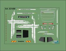 H0/1:87 DIS0314W Decals• für Volvo FH4 /Performence Edition/weiß