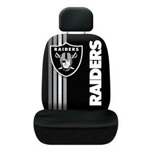 Las Vegas Raiders Rally Design Seat Cover [NEW] NFL Car Truck Seatbelt Bucket