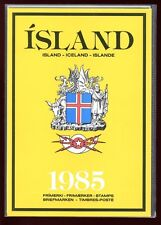 Iceland 1985 Official Year Pack  Complete as Issued