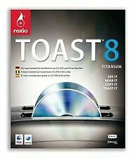 Toast 8 Titanium (DVD-Pack) von Roxio | Software | Zustand gut
