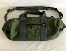 Camp Inn Rugged Sport Duffels RARE Limited Edition Army Green Weekend Gym Bag