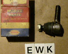 OE 1941 42 46 47 48 Chrysler Left Outer Tie Rod End ~ Mopar Part # 951305