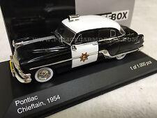 Whitebox 1/43 CHP California Highway Patrol 1954 Pontiac Chieftain Police Car