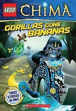 LEGO Legends of Chima: Gorillas Gone Bananas Chapter Book #3-ExLibrary