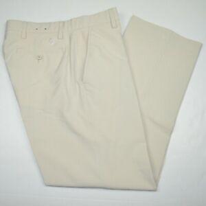 Mint FOOTJOY FJ Stretch Stone Flat Front Golf Pants Sz 34 x 30