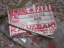 KAWASAKI NOS THROTTLE ROD KH250 S1 KM90 KM100 KE100 G3 G4 G5 MC1 KD 16024-006