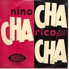 """Nino Rico And His Orchestra plays Cha-Cha-Cha UK 45 7"""" EP +Picture Sleeve"""