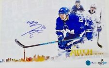 Mitch Marner Signed Toronto Maple Leafs Skyline 11x17 Photo