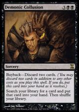 MTG 4x DEMONIC COLLUSION - Time Spiral *Rare Buyback*