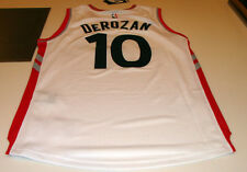 NBA Toronto Raptors Demar DeRozan Jersey Home White Swingman 2015-16 XL New