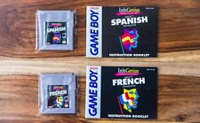 InfoGenius Productivity Berlitz Spanish + French Translator (Nintendo Game Boy)