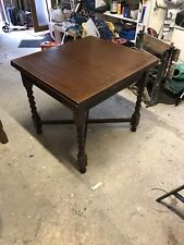 1930's,draw leaf,extending,dining table,square legs,table,vintage,oak,Deco