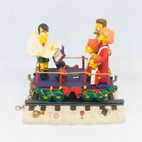 """A Caroling Surprise"" Simpsons Christmas Express Collection Train Flanders 2003"