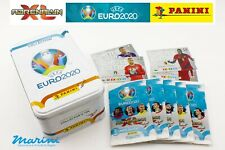 PANINI ADRENALYN XL UEFA EURO 2020 TIN BOX 5 BUSTINE 40 CARD + 4 LIMITED EDITION