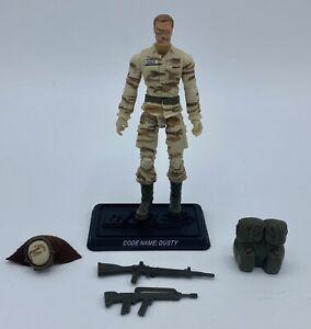 G.I. Joe Dusty 25th Anniversary Authentic Hasbro 2008 Figure Near Complete ARAH