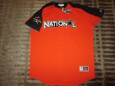 Miami Marlins National League 2017 MLB All Star Game Majestic Jersey XL 52 NEW