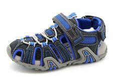 Geox Respira Infant Kids UK 10  Kraze Navy Blue Closed Toe Breathable Sandals