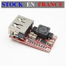 Module alimentation Step Down - DC DC - IN:6-24V (12V) OUT:5V 3A USB