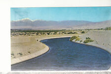 All American Canal  near Indio  Imperial Valley CA   Unused Chrome Postcard 1417