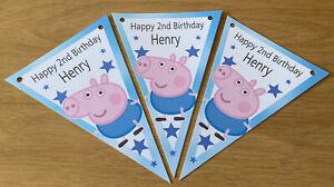 Personalised handmade George  Pig / party / decoration / Birthday