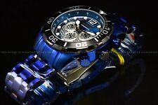 Invicta Men 50mm Pro Diver Ocean Blue Case & Bracelet Black dial Quartz Watch