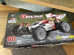 Wltoys XKS 144001 2.4G 1:14 RC 4WD 60km/h Speed Racing Monstertruck 60 km / h