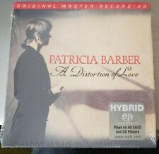 PATRICIA BARBER A DISTORTION OF LOVE MFSL SACD LIMITED ED MOFI Mobile Fidelity