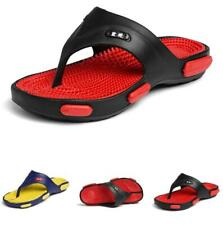 Summer Men Thong Slippers Shoes Clip Toe Slingbacks Sports Walking Non-slip 44 B
