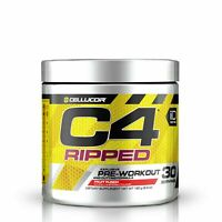 Cellucor C4 30 Servings RIPPED Pre WORKOUT FREE SHIPPING!! FRUIT PUNCH exp 2021