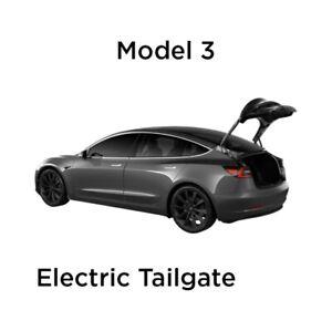 TESLA model 3 Electric tailgate(Model 3 Power Liftgate)