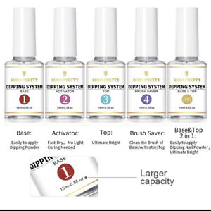 Activator Nail Dipping Powder Liquid System Fast Dry Dipping Liquids UK