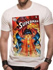 Superman Burn #218 Comic Cover Logo Man of Steel DC Comics Männer Men T-Shirt