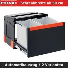 Franke Einbauabfallsammler Cube 50 Automatikauszug Mülleimer Abfallsortierer