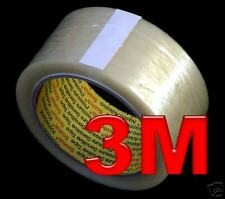 108 x 3M Strong SCOTCH Clear Parcel packing TAPE FREEP