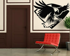Wall Stickers Vinyl Decal Eagle Bird Flying Predator Tribal Symbols ig191