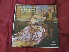 The King and I From the Sound Track Deborah Kerr/Yul Brynner/Rita Moreno LP W740