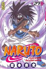 NARUTO tome 27 Kishimoto manga shonen en français