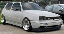 VW Golf 3 MK3 III Vento front lip spoiler GTI VR6 look chin addon trim splitter