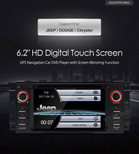 AUTORADIO JEEP CHRYSLER DODGE NAVIGATORE GPS DVD USB SD CANBUS BLUETOOTH XTRONS