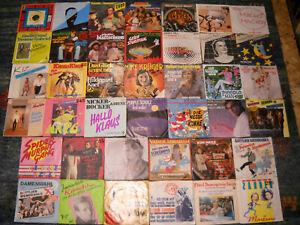 NDW / Deutschpop / Blödelsongs (Lot 83) -  Sammlung 40 Singles