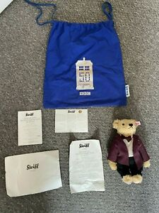 Steiff Doctor Who 50th Anniversary Bear - Limited Edition COA & Bag - 229 of 750