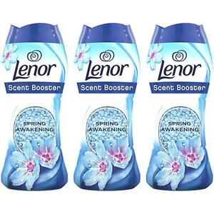3 x Lenor In Wash Scent Infuse Booster Spring Awakening Beads, 2-in-1 Pellets
